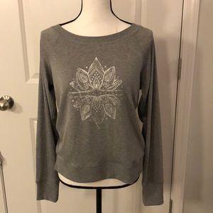 GAIAM Lotus Yoga Sweatshirt Small